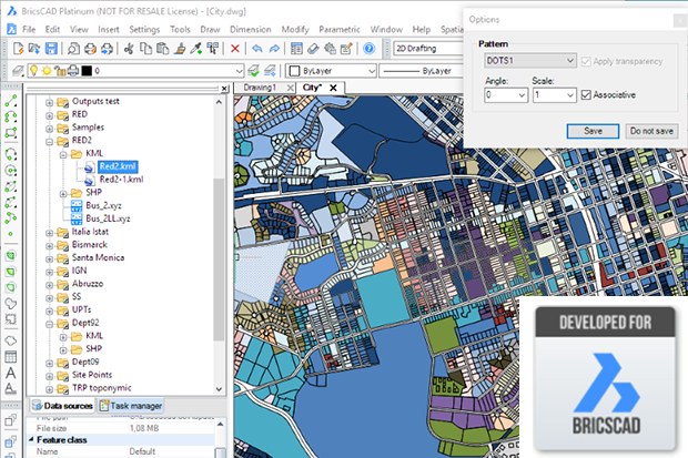 Spatial Manager for BricsCAD®